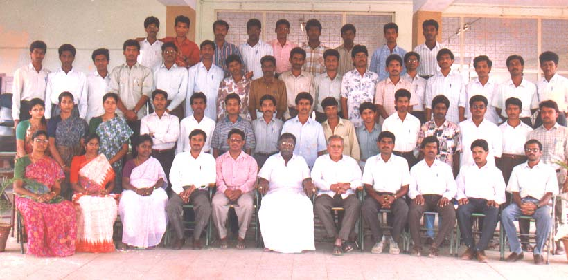 Group Photograph - Civil Engg Dept (1995) - 67 kB