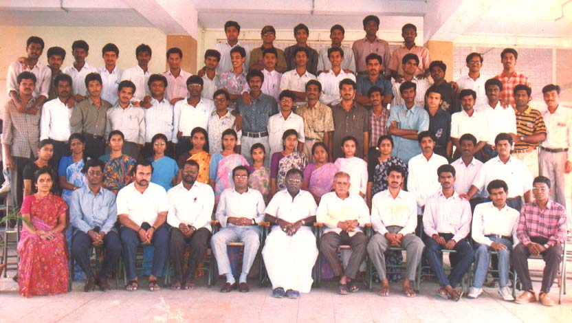 Group Photograph - ECE Dept (1995) - 77kB