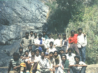 Trekking  Camp to Kodaikanal - January 1992 (142kB)